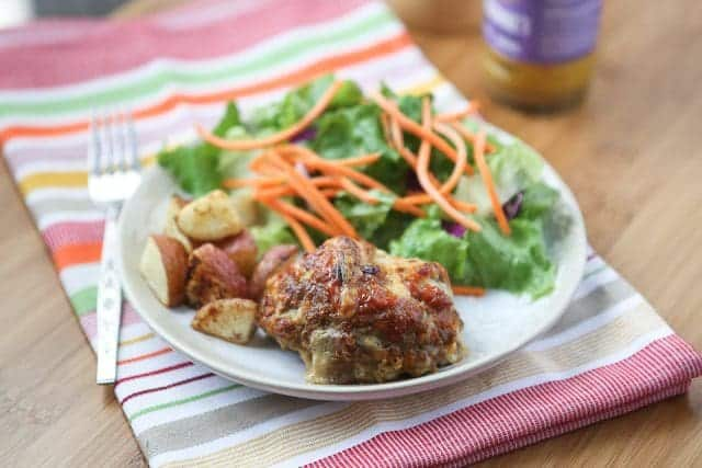 This Mini Honey Mustard Meatloaf recipe is always a hit it my house! Great for a weeknight dinner, these are so easy to make, and quick to get to the table.