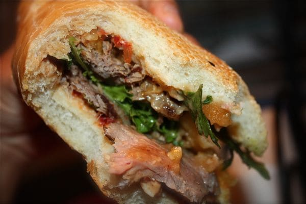 Harissa Steak Sandwich