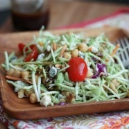 Broccoli Slaw Salad | AggiesKitchen.com