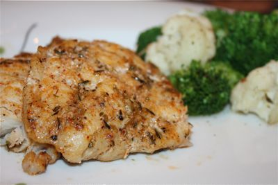 Creole Cast Iron Grouper