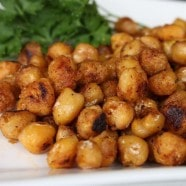 Pan Fried Cajun Chickpeas recipe 1