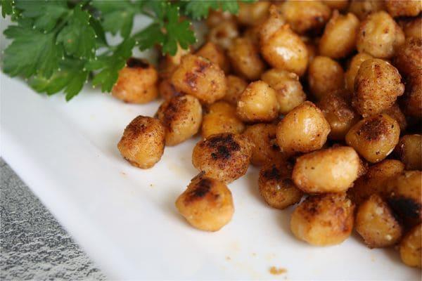Pan Fried Cajun Chickpeas recipe 3