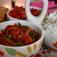 Garlic Feta Dip - recipe - 5