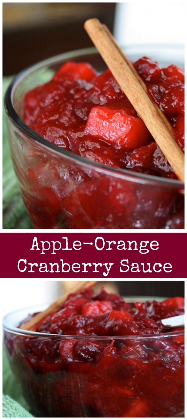 A fresh, tasty twist on traditional Thanksgiving cranberry sauce!