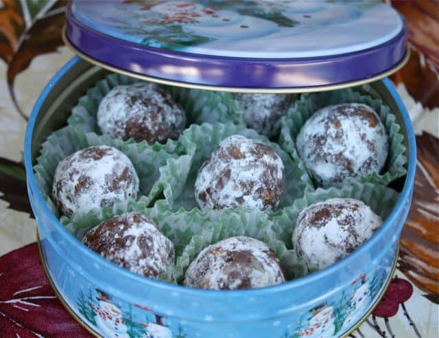 A classic holiday cookie recipe for no-bake spiked bourbon balls from Southern Living to share with friends and family.