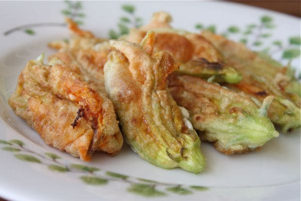Cheese Stuffed Zucchini Flowers - Recipe - 6