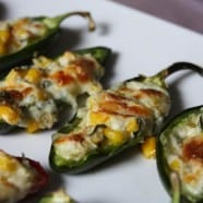 Cheesy Corn Stuffed Jalapenos - recipe -