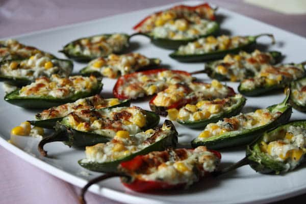 oven baked stuffed jalapenos