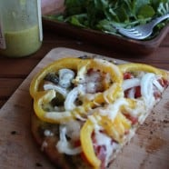 Grilled Veggie Naan Pizza-recipe-6