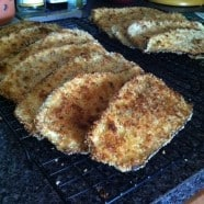 Baked Breaded Eggplant