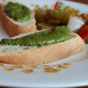 Toasted Walnut Basil Pesto