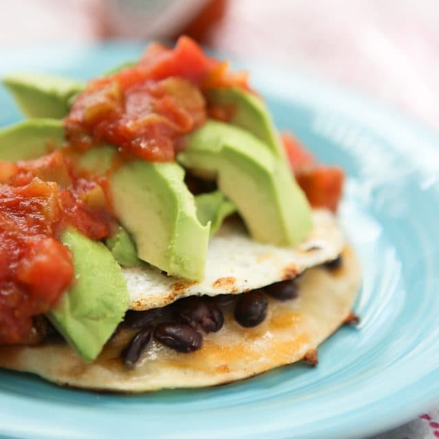 Black Bean and Egg Tostadas