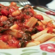 Rainbow Chard in Tomato Sauce with White Beans-recipe--4