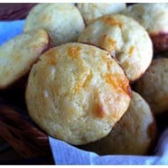 Roasted Chile and Cheddar Corn Muffins - recipe