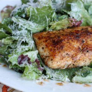 Blackened Mahi Ceasar Salad