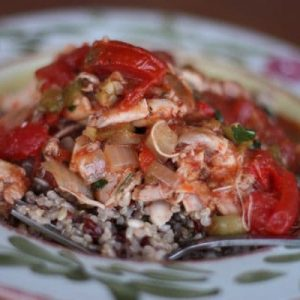 Slow Cooker Chicken Criolla