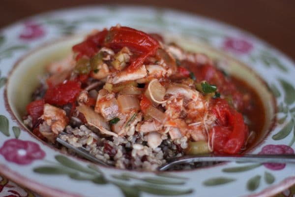 Crock Pot Chicken A La Criolla Recipe — Dishmaps