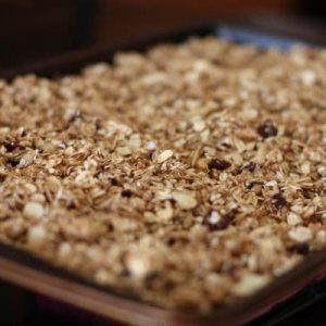 The Naptime Chef's Cranberry Spice Granola