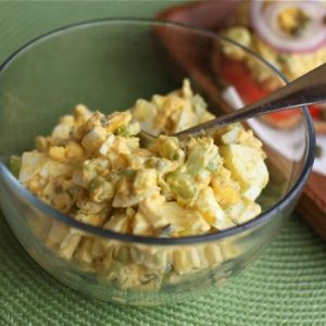 Creamy Egg Salad with Capers