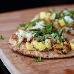 Grilled Summer Squash Pizza