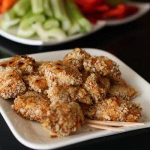 Hellmann's BBQ-Cheddar Chicken Bites