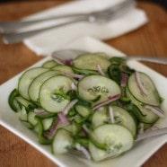 Kicked Up Cucumber Salad recipe 1