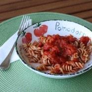 Pasta Pomodoro recipe1
