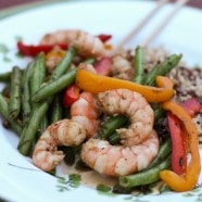 Szechuan Shrimp and Vegetable Stir Fry