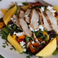 Grilled Chicken Mango Salad recipe1