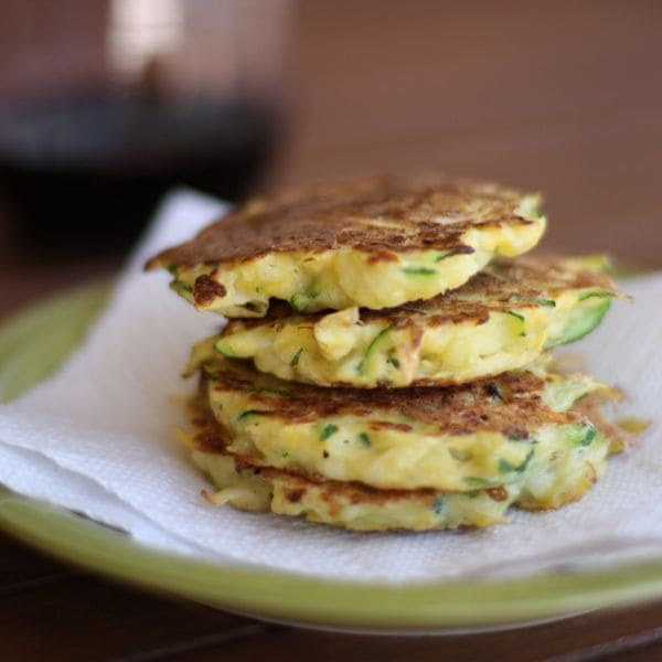 Summer Squash Fritters made with zucchini and yellow squash are a great way to use up your summer squash and zucchini.