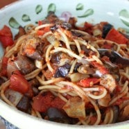 Roasted Vegetables over Spaghetti-recipe--5