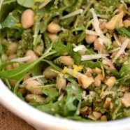 IMAGE 1 - white bean pesto salad
