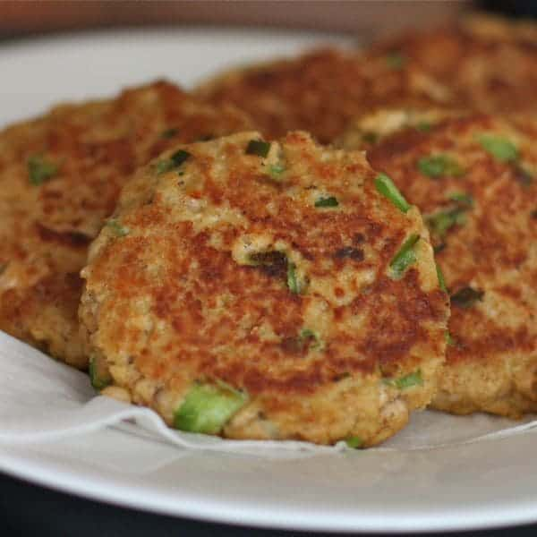 Old Bay Salmon Cakes - a family favorite recipe