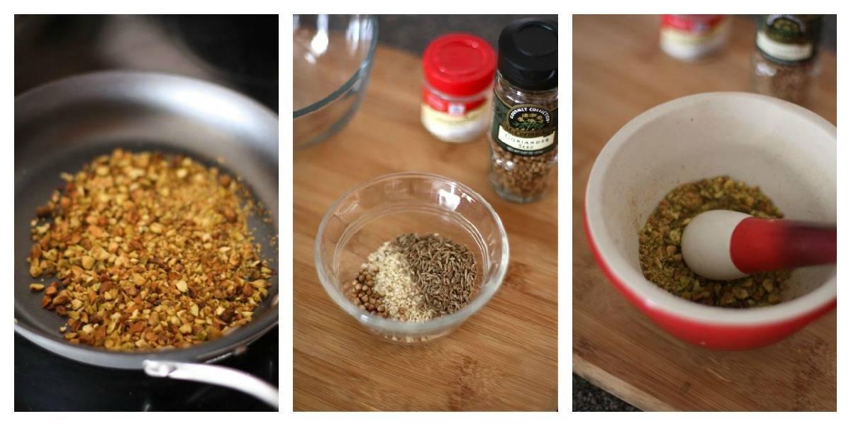 Dukkah Spice Blend Prep