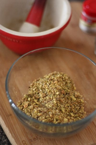 Dukkah Spice Blend Recipe | Aggie's Kitchen