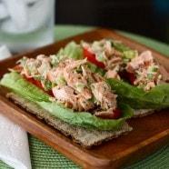 Simple Salmon Salad | Aggie's Kitchen
