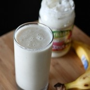 Banana and Coconut Smoothie | Aggie's Kitchen