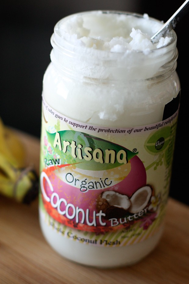 Banana and Coconut Butter Smoothie   Aggie's Kitchen