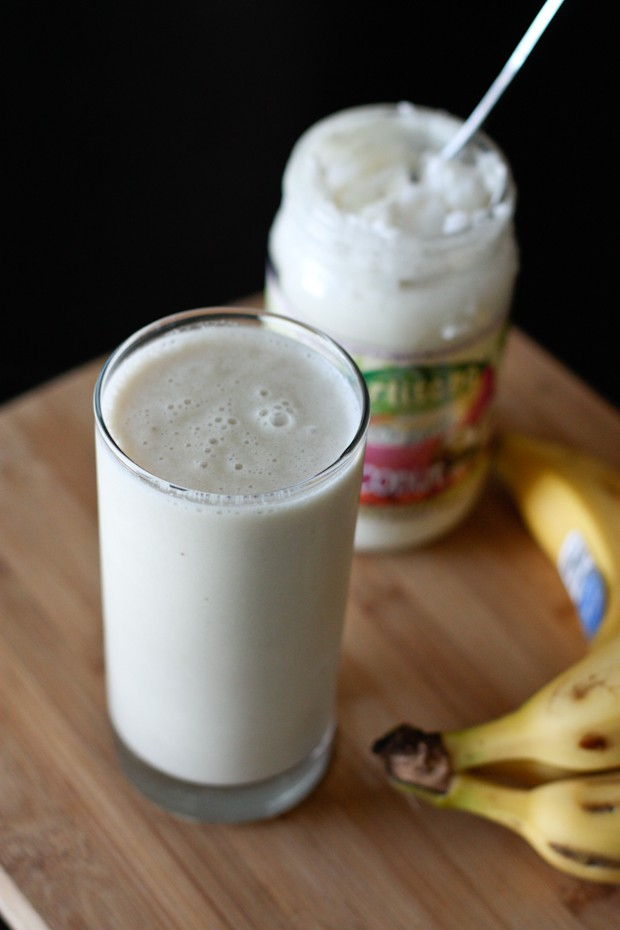 Banana and Coconut Smoothie   Aggie's Kitchen