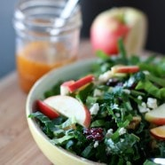 Kale and Chard Green Power Salad || Aggie's Kitchen