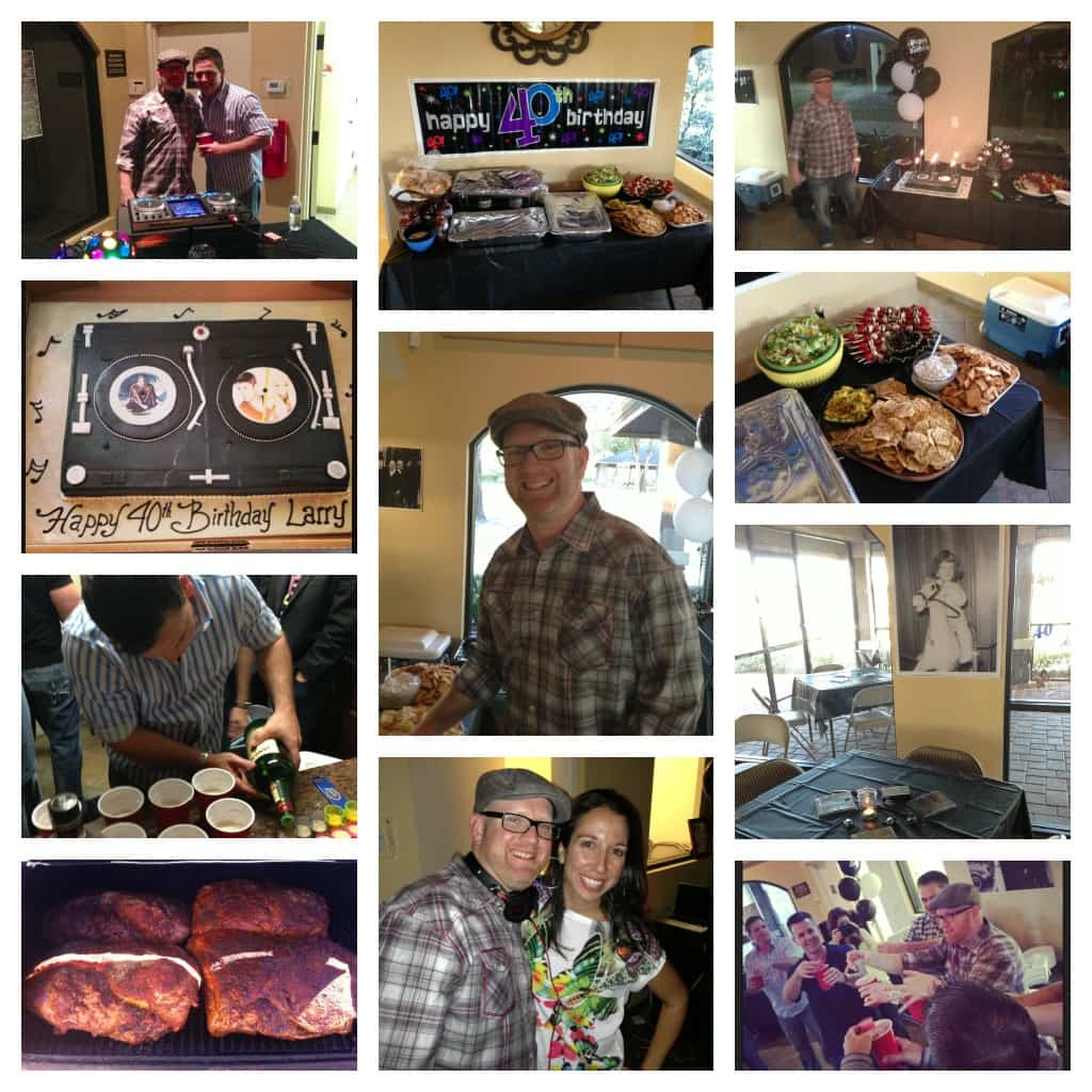 Larry's Bday Collage