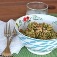 Peppery Arugula and Meyer Lemon Pesto Sauce
