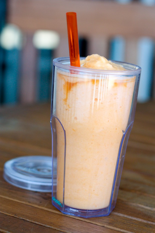 Cantaloupe Smoothie | Aggie's Kitchen