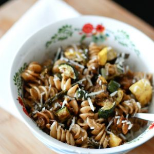 Roasted Vegetable Whole Wheat Pasta Salad