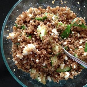 Cool Cucumber and Quinoa Salad