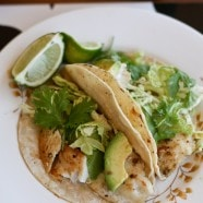 Grilled Green Fish Tacos | Aggie's Kitchen