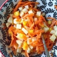 Jicama, Mango and Carrot Salad
