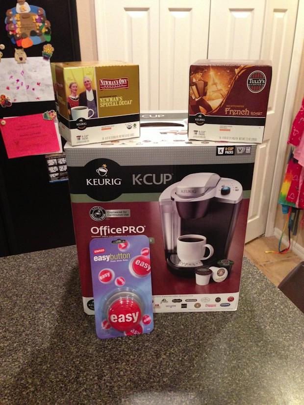 Keurig Coffee Maker Giveaway : Keurig OfficePRO Coffee Maker {Giveaway and Review}