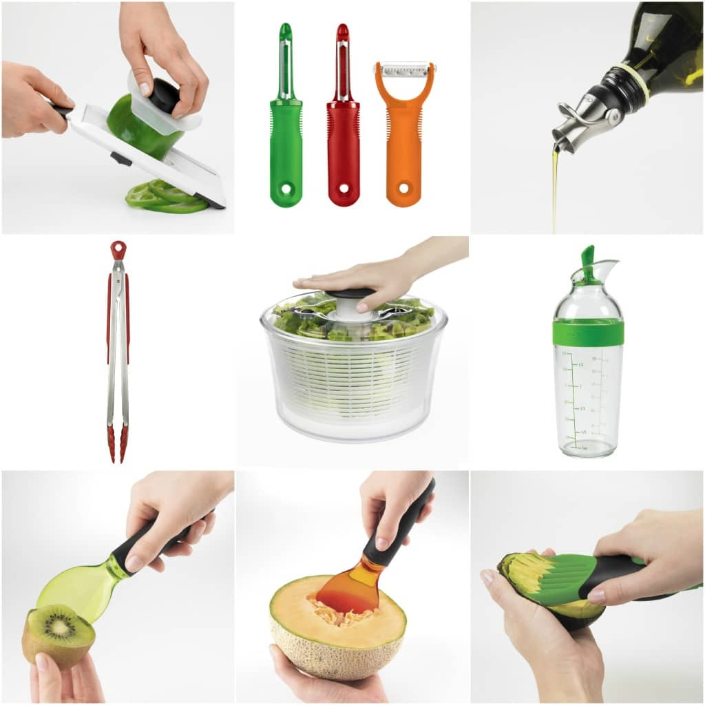 OXO Salad Tool Giveaway | AggiesKitchen.com