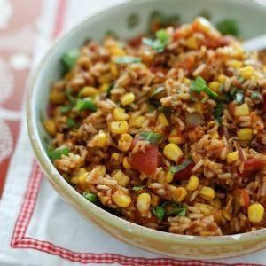 Mexican Wild Rice Recipe | AggiesKitchen.com #mexican #sidedish #rice